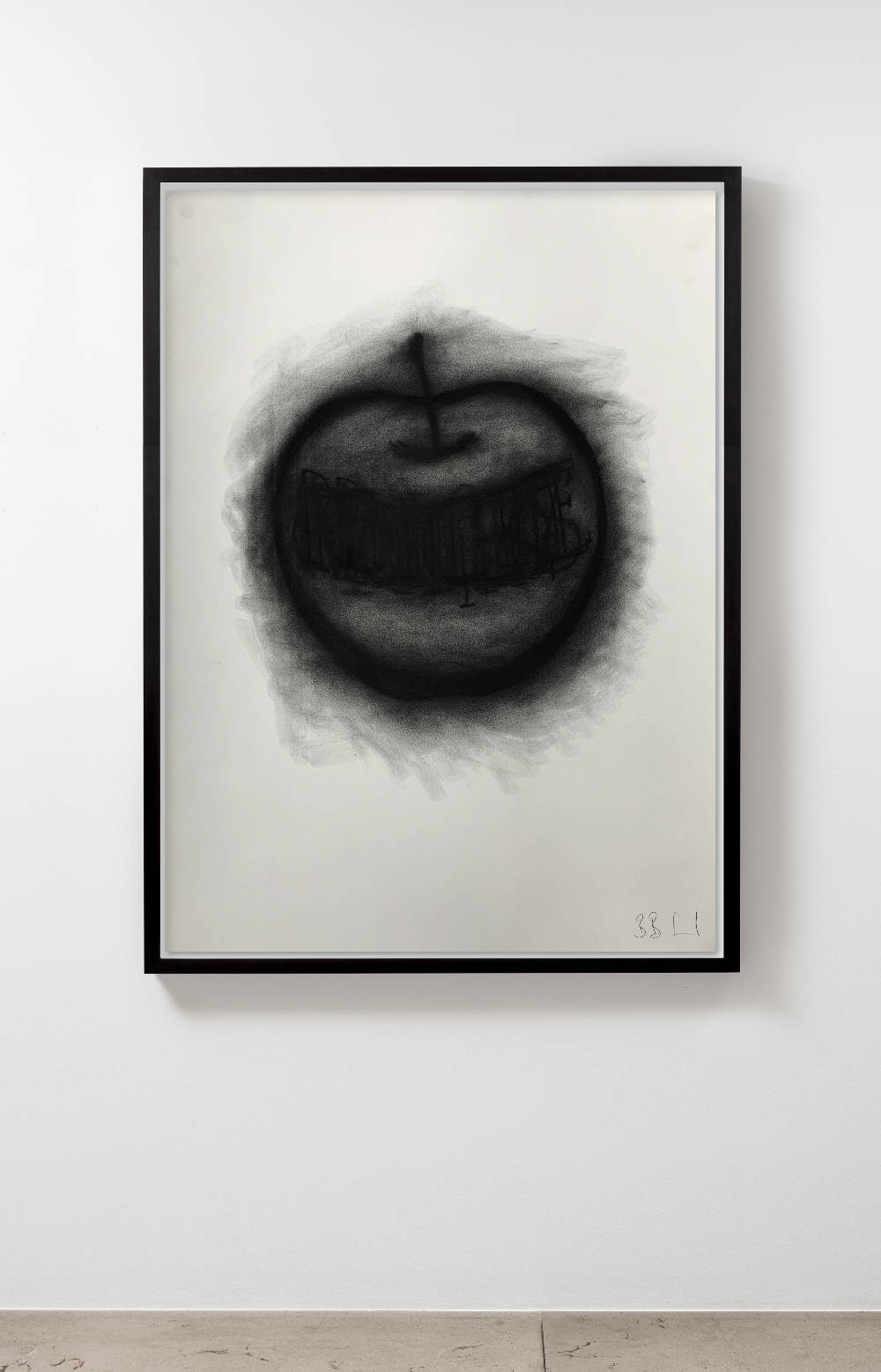 Barnaby Barford, everything you ever wanted, 2019. Charcoal on paper H100 x L70.3 cm (H39.3 x L27.6 in) H102.5 x L72.8 x D7.5 cm (H40.3 x L28.6 x D2.95 in) framed