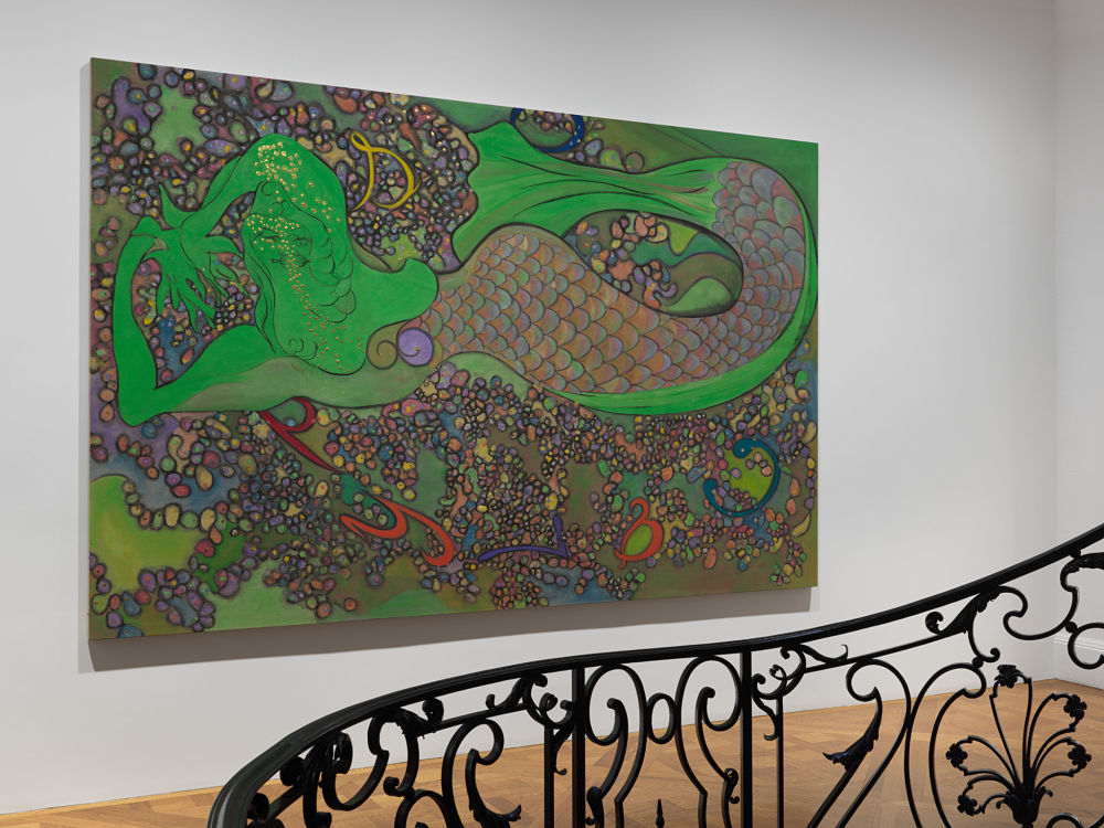David Zwirner East 69th St Chris Ofili 1