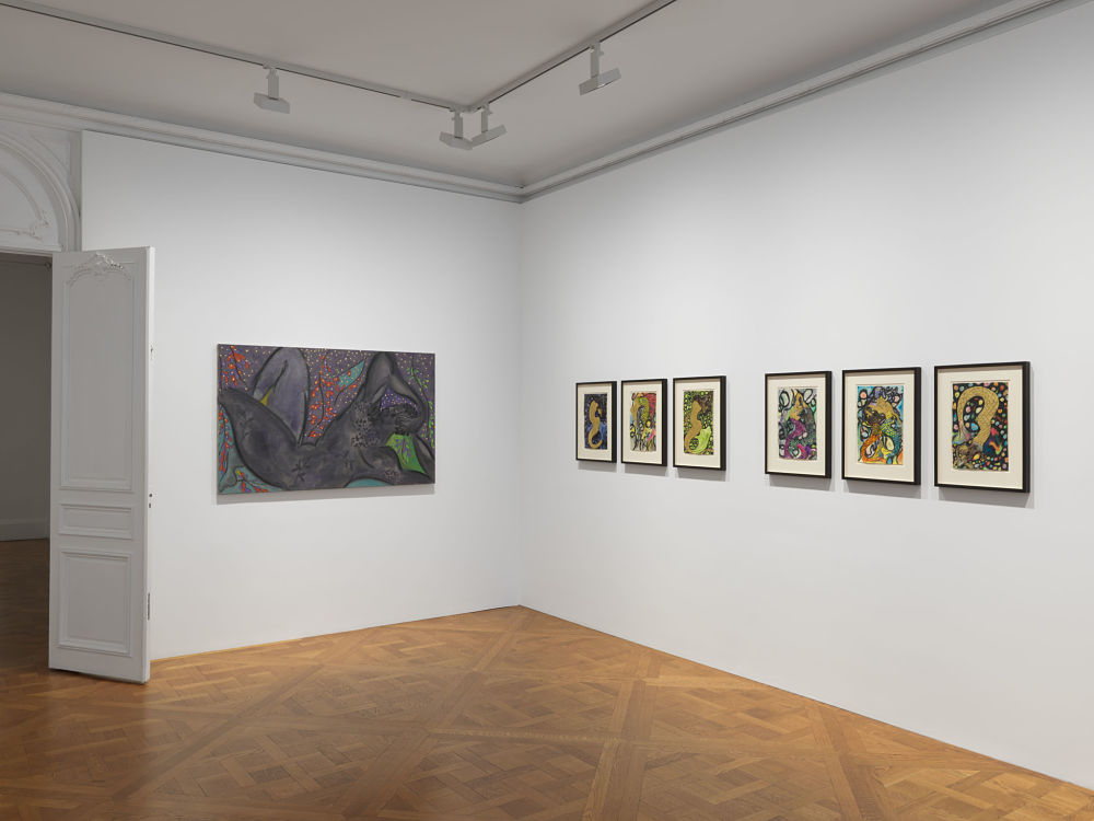 David Zwirner East 69th St Chris Ofili 3