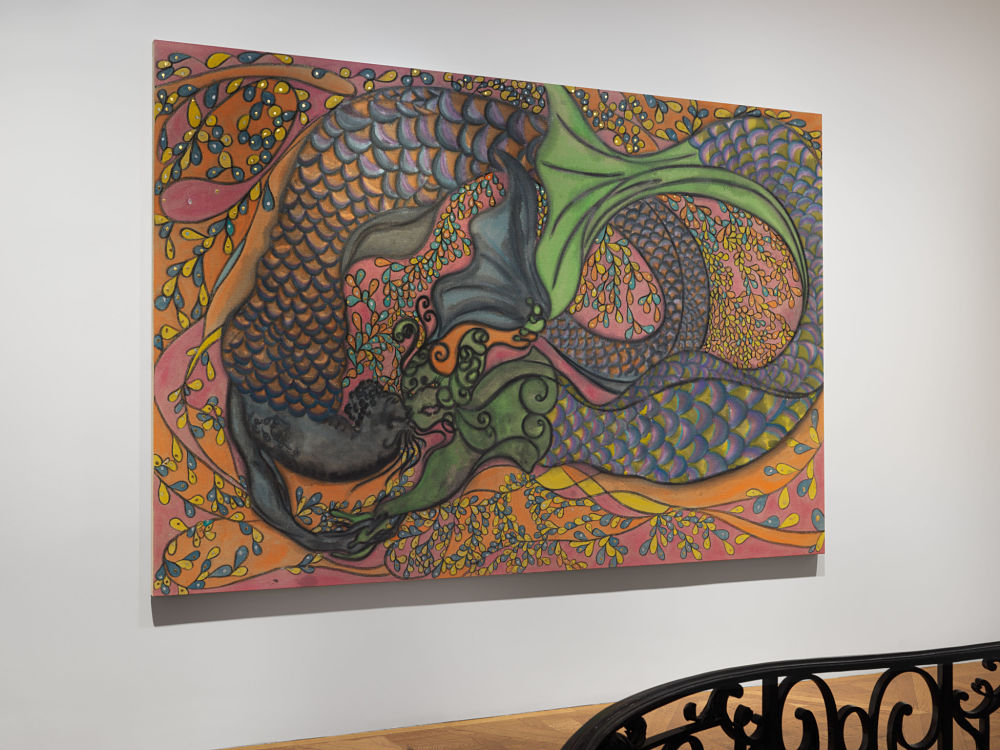 David Zwirner East 69th St Chris Ofili 7