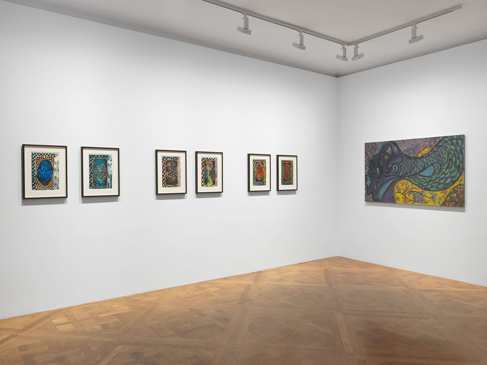 David Zwirner East 69th St Chris Ofili 9