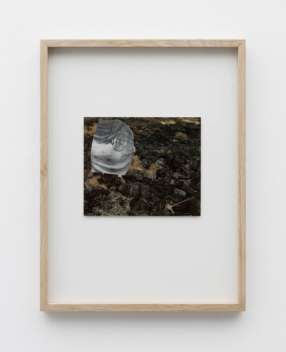 Eleonore False, Camouflage #5, 2019. Collage. Framed Dimensions: 38 x 29 cm (14.96 x 11.42 inches) Courtesy of the artist & VNH Gallery. Photo: Claire Dorn