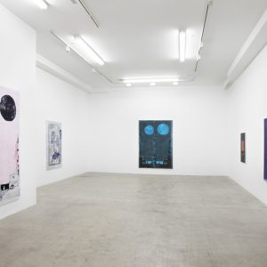 Michael Raedecker: parade @GRIMM, New York  - GalleriesNow.net