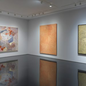 Desert Painters of Australia: Works from the Kluge-Ruhe Aboriginal Art Collection of the University of Virginia and the Collection of Steve Martin and Anne Stringfield @Gagosian 976 Madison Avenue, New York  - GalleriesNow.net