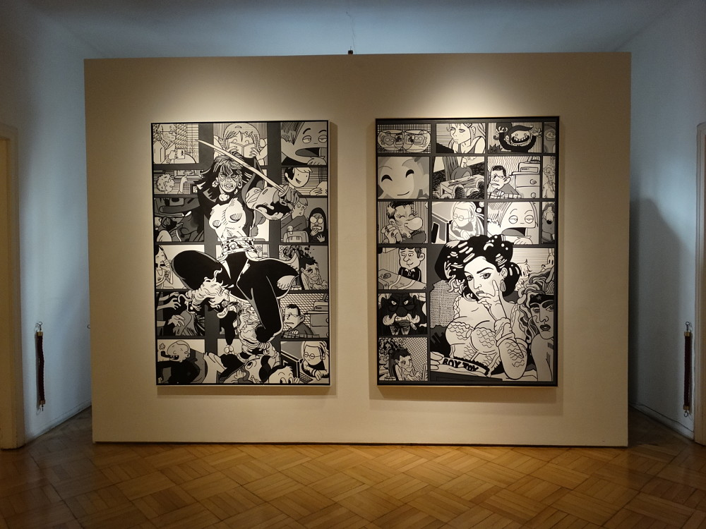 Galerie Ernst Hilger Erro 2