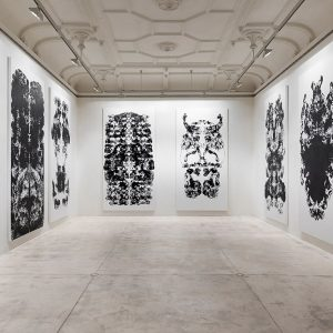 Mark Wallinger: Upside Down Inside Out Back to Front @Galerie Krinzinger, Vienna  - GalleriesNow.net