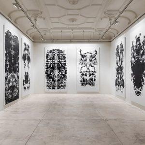 Mark Wallinger: Upside Down Inside Out Back to Front @Galerie Krinzinger, Vienna  - GalleriesNow.net