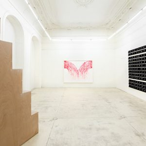 William Mackrell: Here is where we meet @Galerie Krinzinger, Vienna  - GalleriesNow.net
