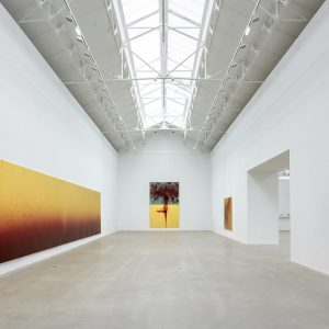Imran Qureshi: The Seeming Endless Path of Memory @Galerie Thaddaeus Ropac, Pantin, Paris  - GalleriesNow.net