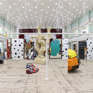 Michelangelo Pistoletto & Pascale Marthine Tayou: Una cosa non esclude l'altra - One thing doesn't exclude the other @Galleria Continua San Gimignano, Siena  - GalleriesNow.net