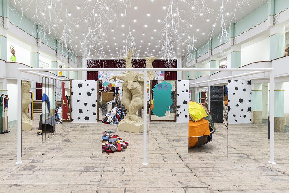 Galleria Continua San Gimignano Pistoletto Marthine Tayou 1