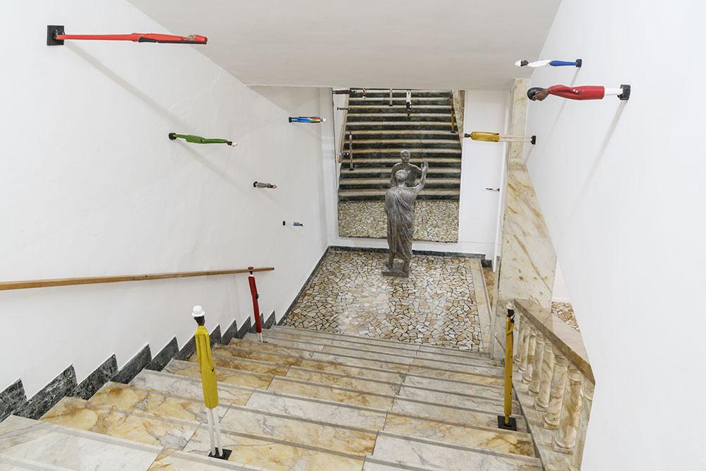 Galleria Continua San Gimignano Pistoletto Marthine Tayou 3