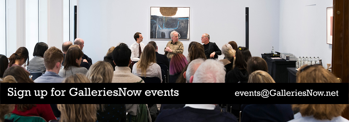 sign up for GalleriesNow events