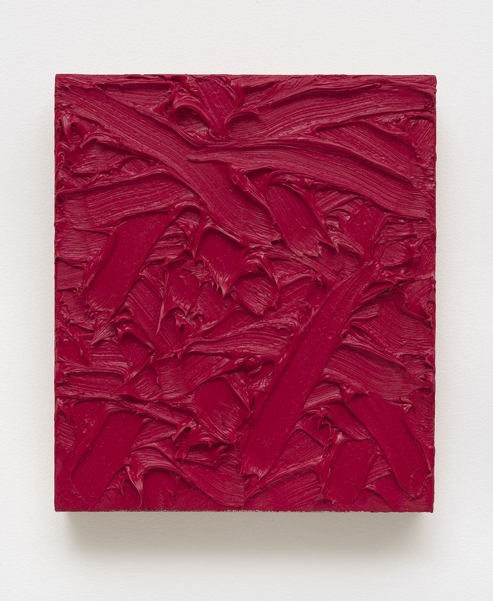 James Hayward, Abstract #176, 2012. Oil on canvas on wood panel 15 x 13 in (38.1 x 33.02 cm)