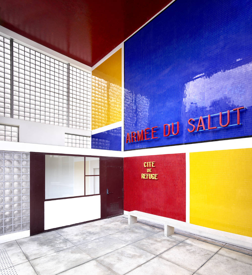Candida Höfer, Cité Refuge de l'Armée du Salut (Le Corbusier) III Paris 2018, 2018. Image Dimensions: 180 x 167.9 cm (70.87 x 66.1 inches) Framed Dimensions: 185 x 172.9 cm (72.83 x 68.07 inches) Edition 2 of 6. Courtesy of the artist & VNH Gallery © Candida Höfer