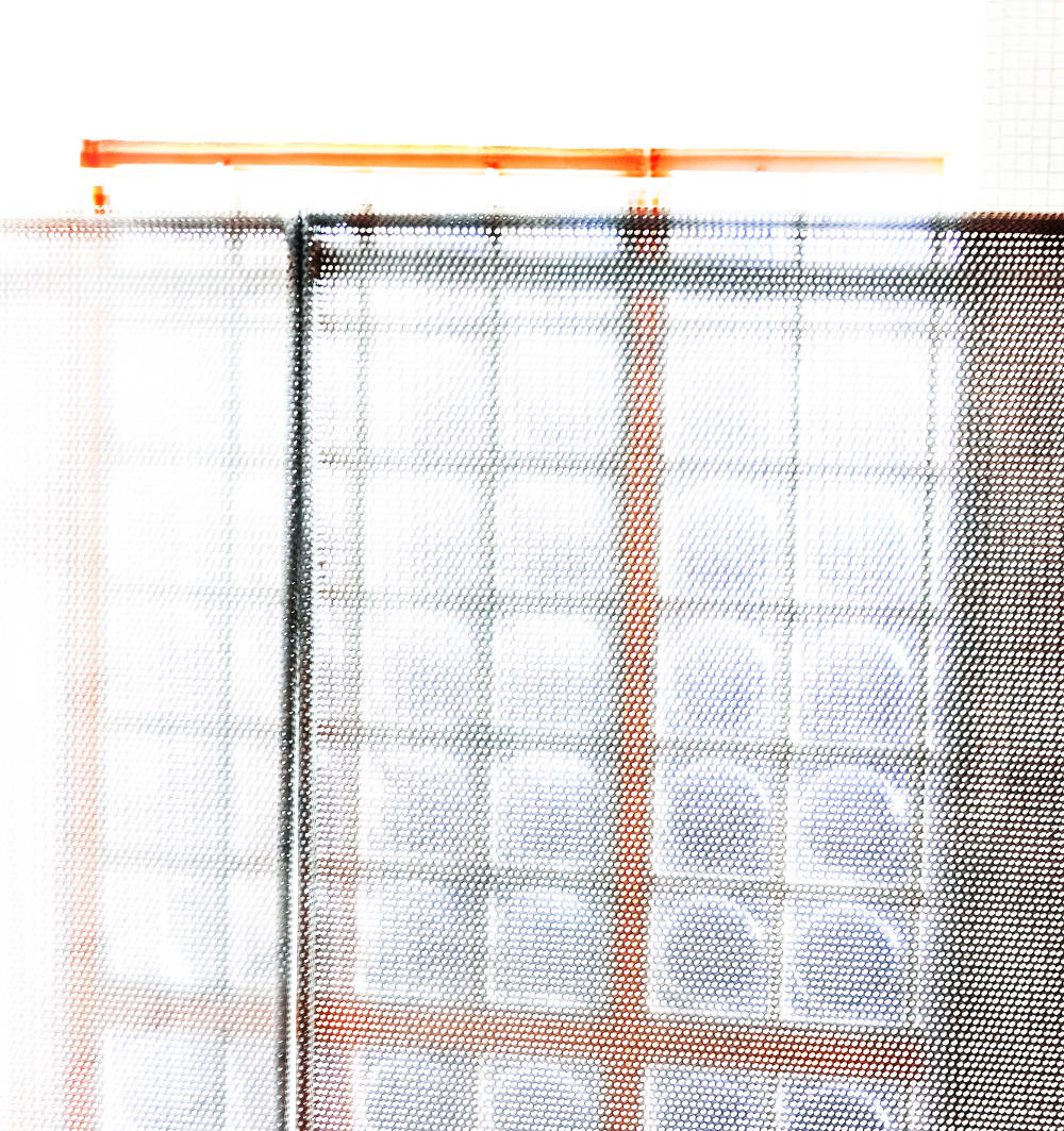 Candida Höfer, Glass Bricks 2019, 2019. C-Print. Image Dimensions: 70 x 67.2 cm (27.56 x 26.46 inches) Framed Dimensions: 71.2 x 68.4 cm (28.03 x 26.93 inches) Edition 2 of 6. Courtesy of the artist & VNH Gallery © Candida Höfer