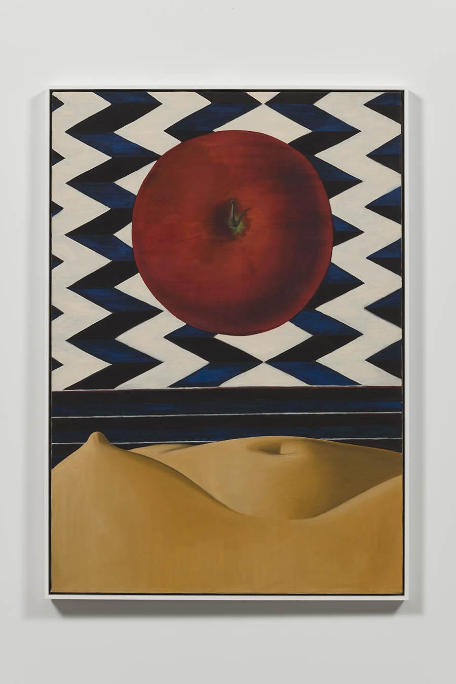 Luchita Hurtado, Untitled, 1971, Oil on canvas, Unique, 127 x 88.6 cm, © Luchita Hurtado, Courtesy the artist and Hauser & Wirth, Photo: Jeff McLane