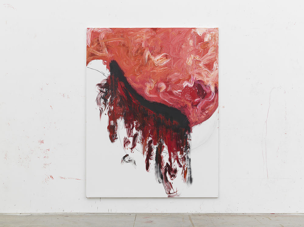 Anish Kapoor, 2018. Oil on canvas 274 x 213 cm 107 3/4 x 83 3/4 in ©Anish Kapoor. All rights reserved, 2019