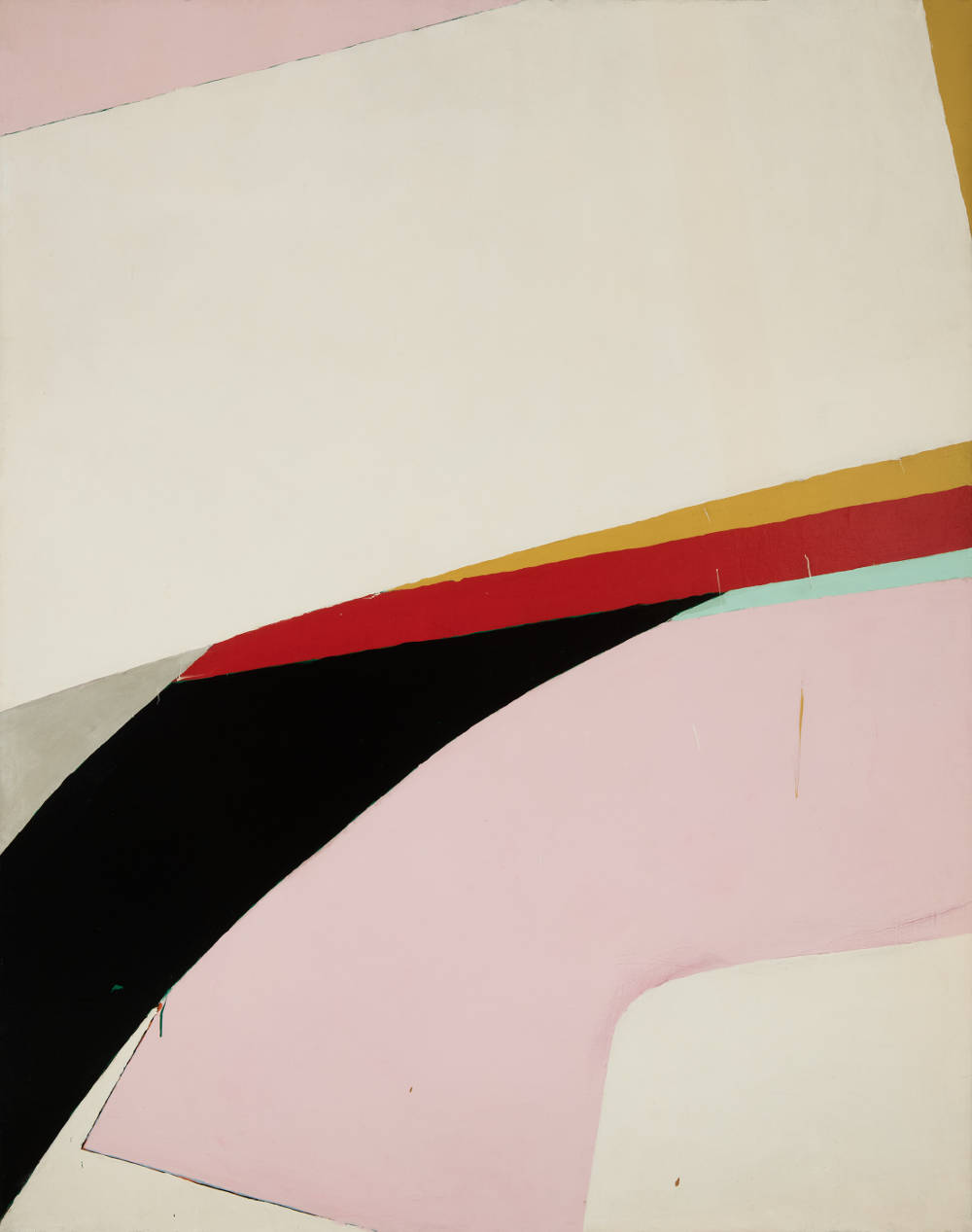 Knox Martin (b. 1923), Polar Mill, 1966. Magna acrylic on canvas 101 x 80 inches