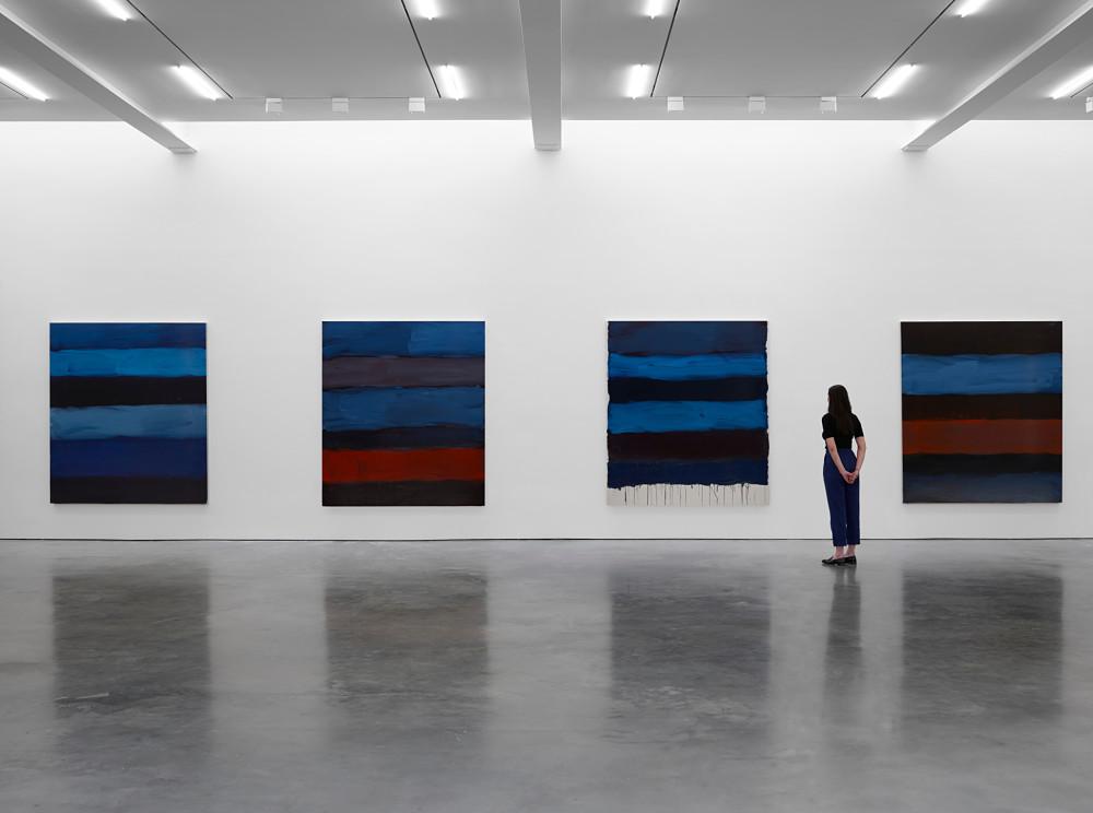 Lisson Gallery W 24th St Sean Scully 1