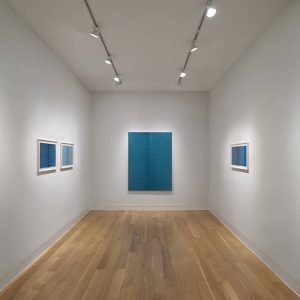 Irma Blank: Painting Between the Lines @Luxembourg & Dayan New York, New York  - GalleriesNow.net