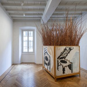 Against Colour Stroke Vectors @Massimo De Carlo, Milan / Belgioioso, Milan  - GalleriesNow.net