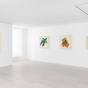 Frank Stella: Polish Village Sketches, 1970-1974 @Mignoni, New York  - GalleriesNow.net