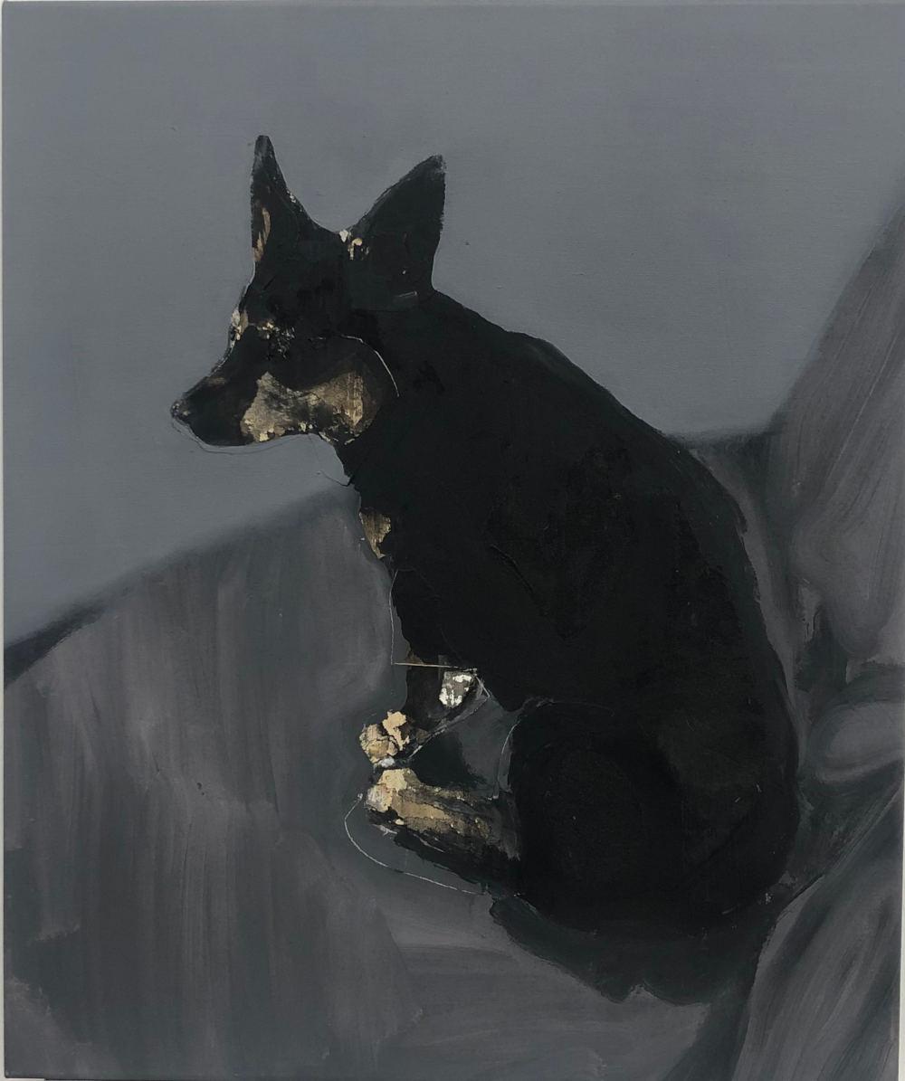 Nebojsa Despotovic, Kira, 2012. Mixed media on canvas 50x60cm
