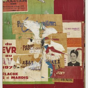 Raymond Hains. Infinite Conversations: Torn Posters and Macintoshages @Galerie Max Hetzler, London  - GalleriesNow.net