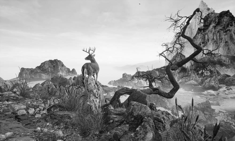 Yang Yongliang, Eternal Landscape, 2017. Virtual Reality