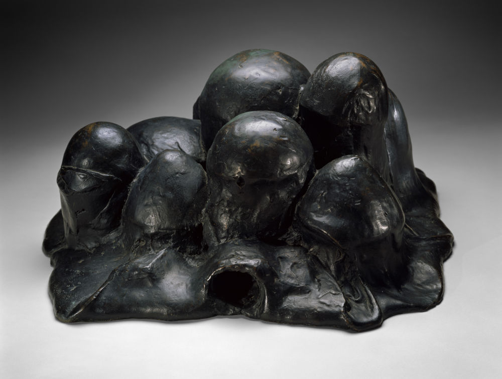Louise Bourgeois, Unconscious Landscape, 1967 (cast 1983). Bronze, Edition of 6 30.5 x 62 x 59.5 cm / 12 x 24 13/32 x 23 27/64 inches © The Easton Foundation/VAGA at ARS, NY and DACS, London 2019. Courtesy of the Ursula Hauser Collection, Switzerland. Photo credit: Christopher Burke