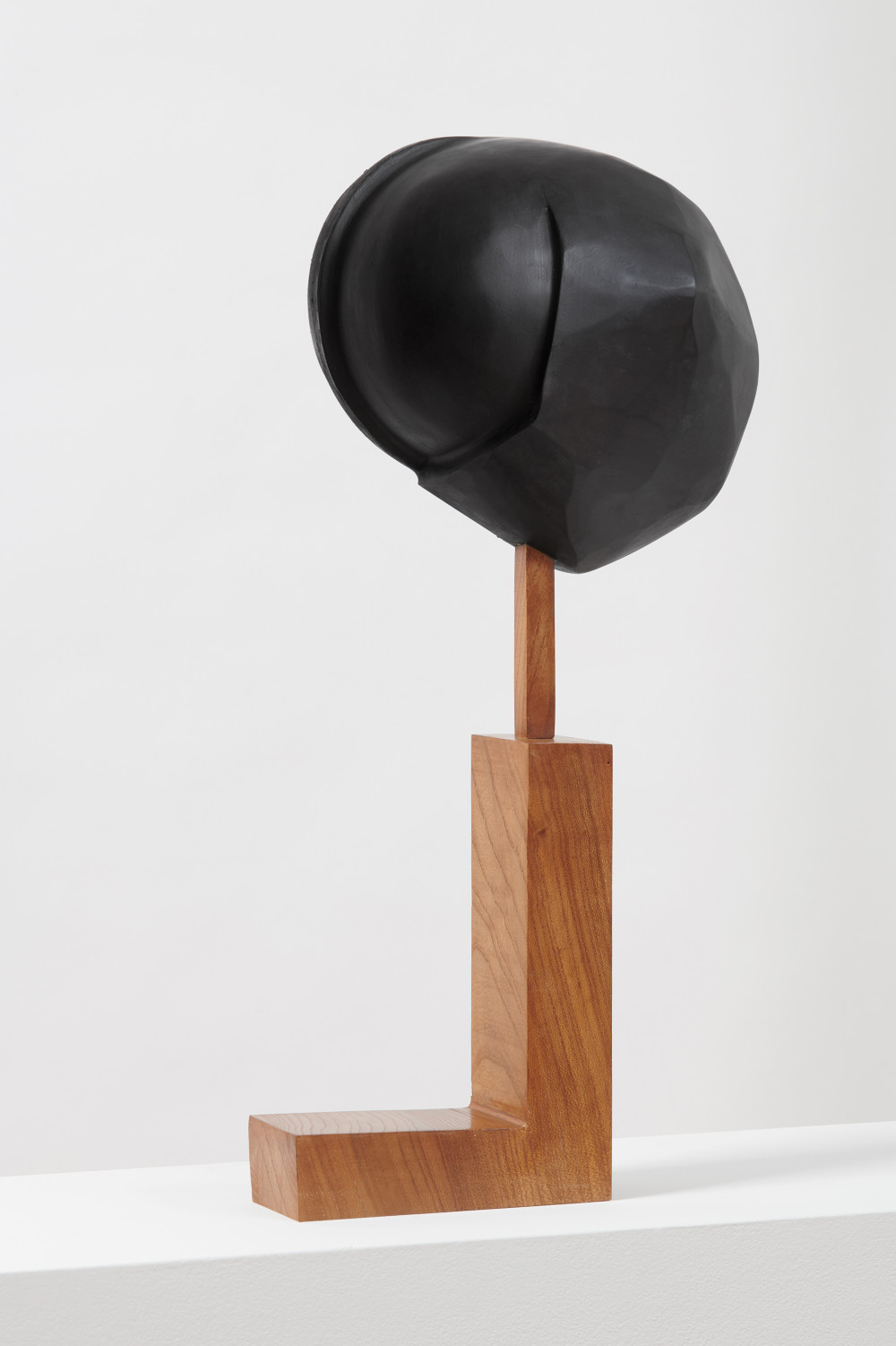 Christina Kruse, 2/2, 2018. Wood, acrylic paint, lacquer, wax, and varnish 25 x 10 x 11.5 inches