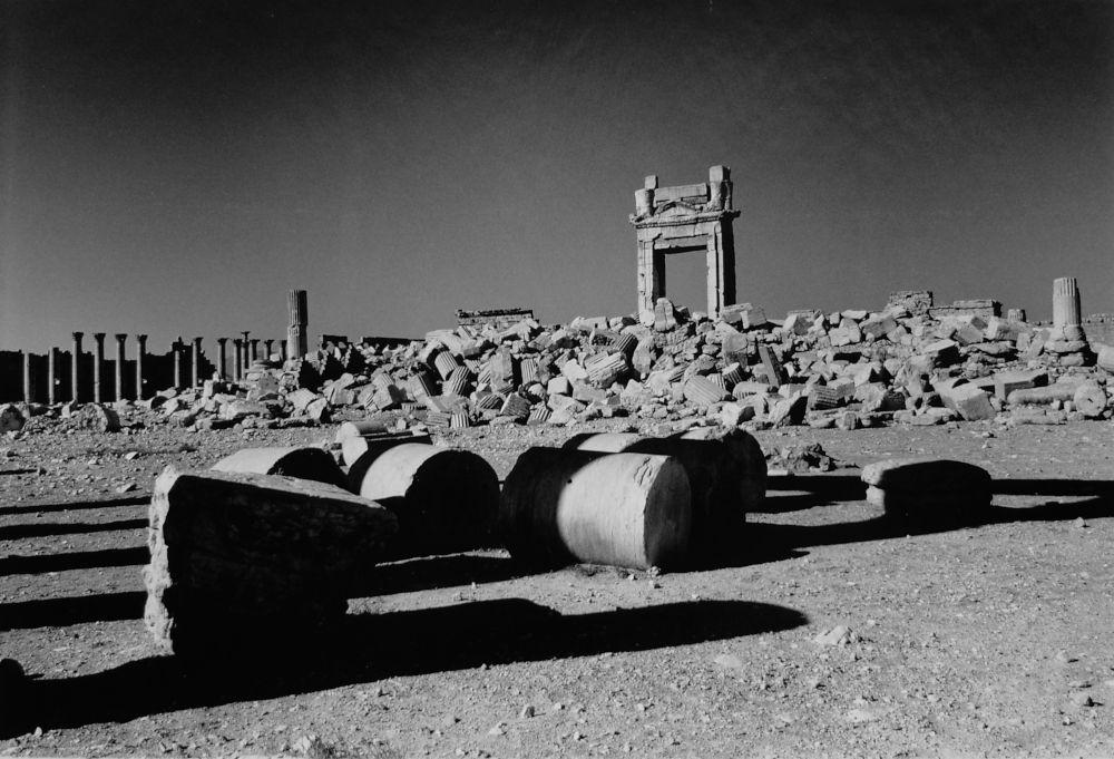 Destruction of the Temple of Bel, Palmyra, 2017