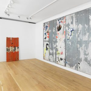 Raymond Hains: Infinite Conversations @Galerie Max Hetzler, London  - GalleriesNow.net