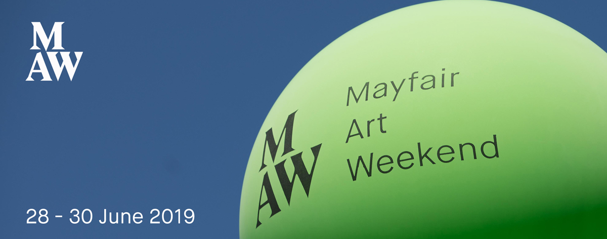 GalleriesNow is delighted to be working again with Mayfair Art Weekend