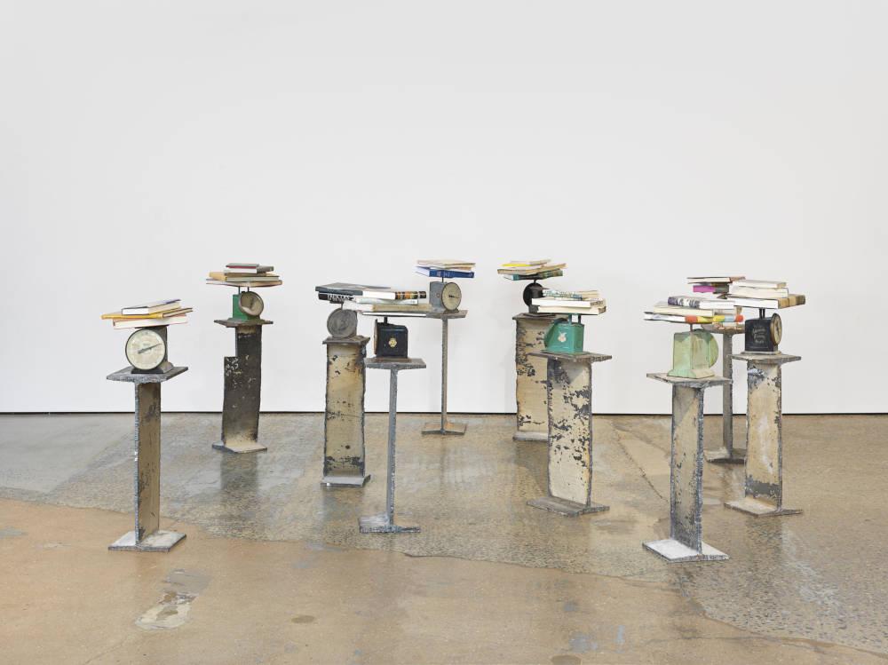 David Hammons, Untitled, 2018. Mixed media. Dimensions variable © David Hammons. Courtesy the artist and Hauser & Wirth. Photo: Genevieve Hanson