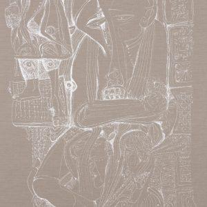 Ibrahim El-Salahi: Pain Relief @Vigo @ Saatchi Gallery, London  - GalleriesNow.net