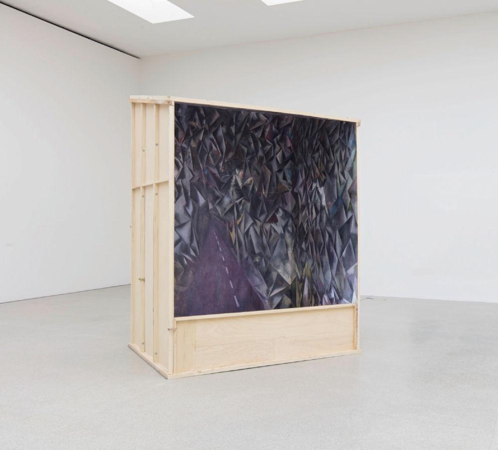 Guillermo Kuitca, Retablo, 2016. Oil on wooden panels 330 x 245 x 185 cm / 129 7/8 x 96 1/2 x 72 7/8 in © Guillermo Kuitca. Courtesy the artist and Hauser & Wirth