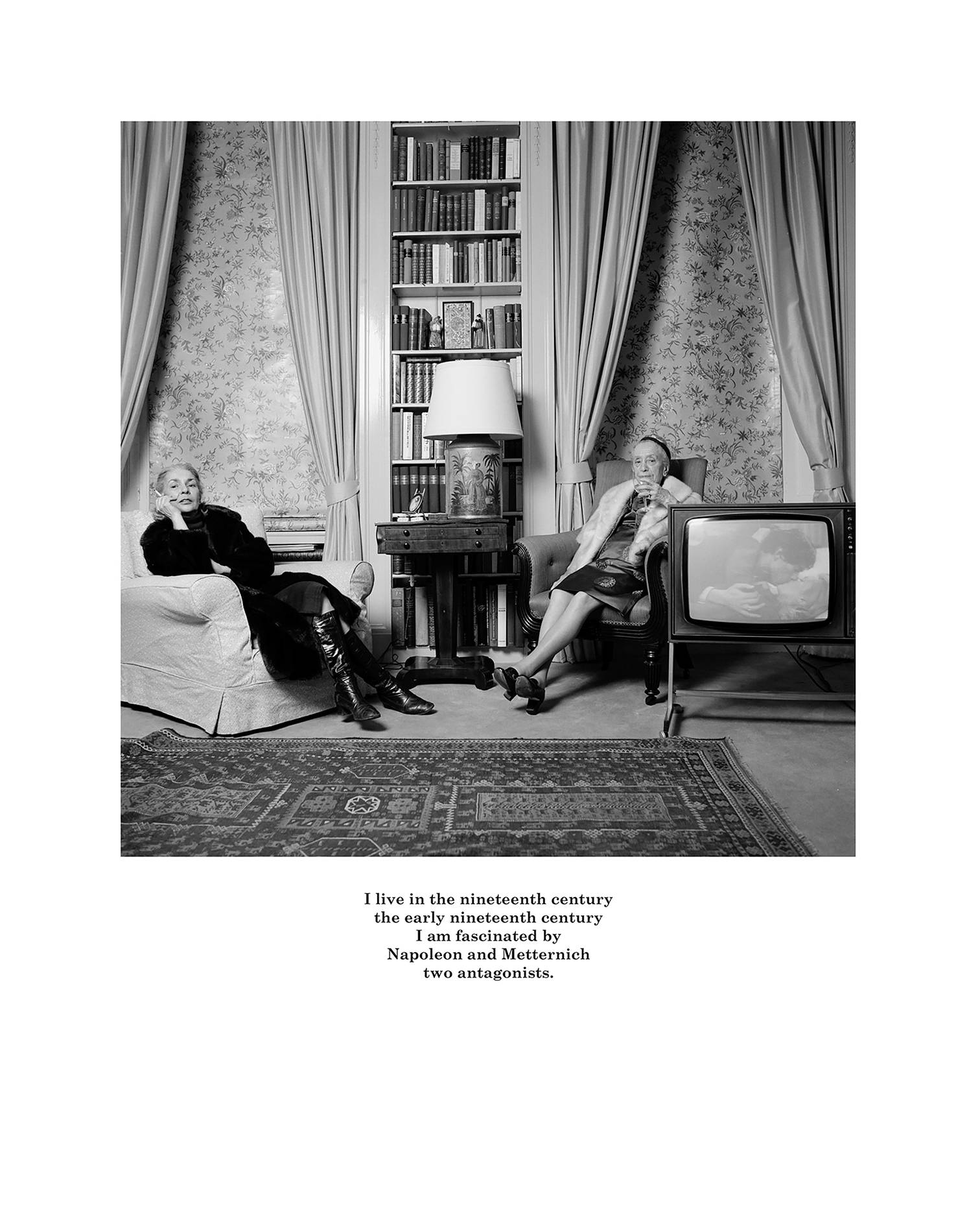 Karen Knorr, Belgravia, 1979-81. Silver bromide print 40,6 × 50,8 cm 16 × 20 inches © Karen Knorr. Courtesy of the Artist