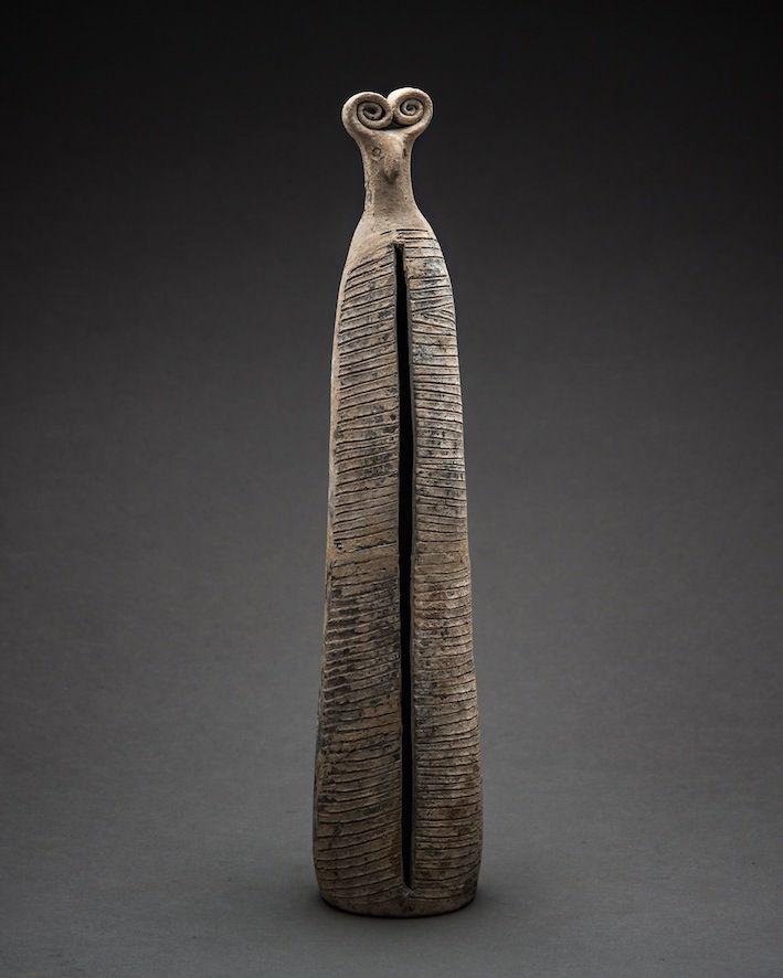Bronze Age Ritual Vessel, c.2500 - 1500 BCE, 36 x 8 x 8 cm Persia