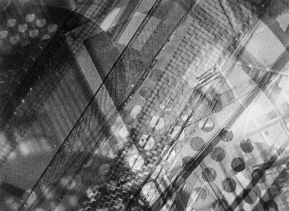 László Moholy-Nagy, Ein Lichtspeiel - Schwarz-Weiss-Grau (Lightplay - Black-White-Grey), 1930. Black and White Film. Duration 5 min 30 sec © the Estate of László Moholy-Nagy / Artists Rights Society (ARS), New York / VG Bild-Kunst, Bonn. Courtesy of the Estate of László Moholy-Nagy