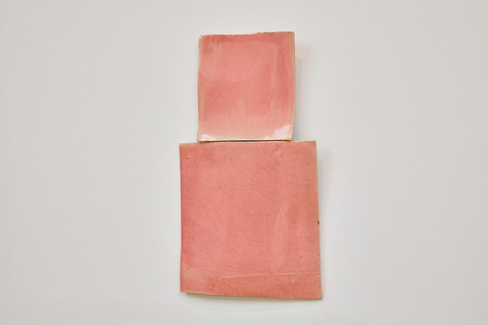 Mary Heilmann, Pink Kachina, 1981. Glazed porcelain, 21 x 12 in., 53.3 x 30.5 cm