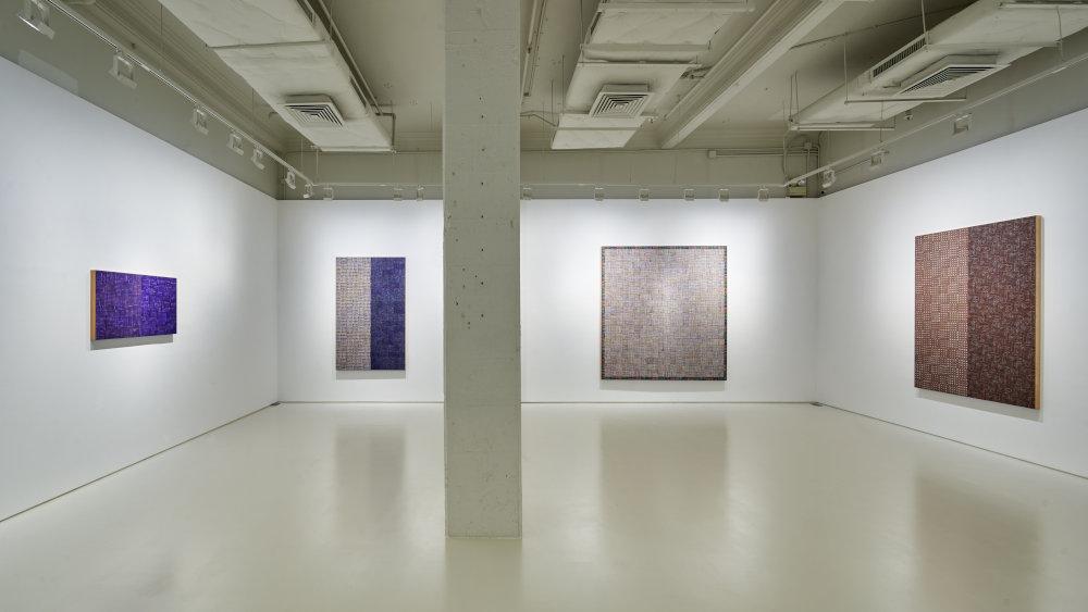 Massimo de Carlo Hong Kong McArthur Binion 2