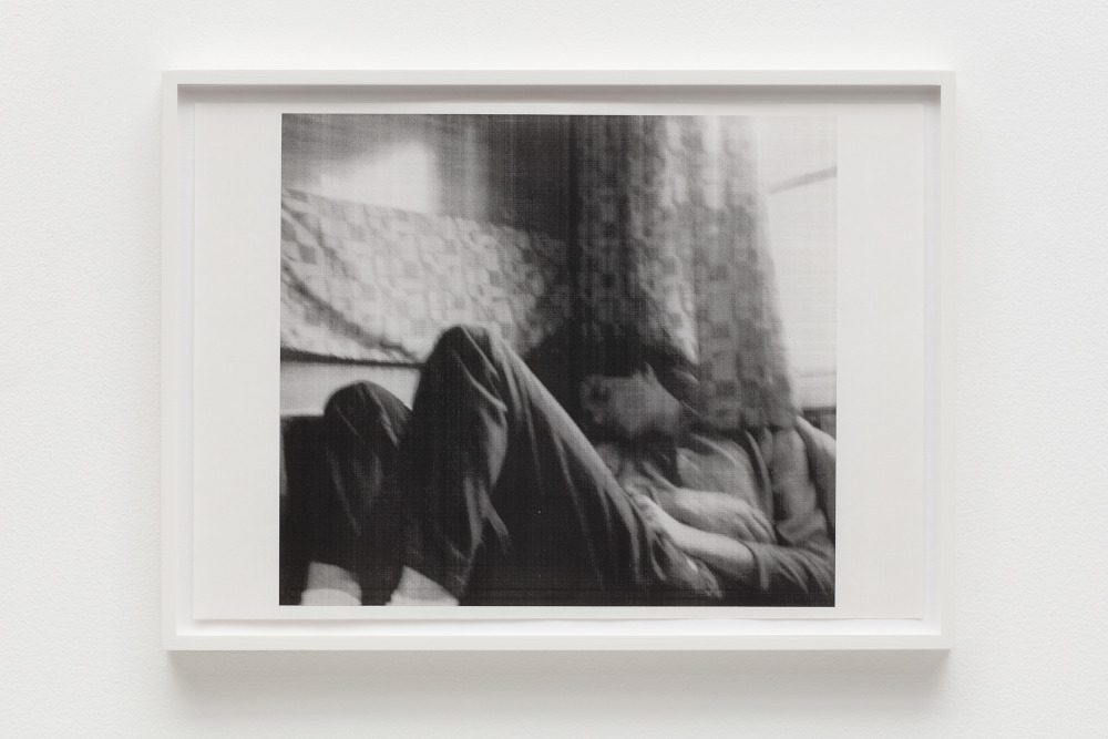 Wolfgang Tillmans, InterRail, b, 1987. Framed black and white laser photocopy 33 x 45.5 cm © Wolfgang Tillmans, courtesy Maureen Paley, London