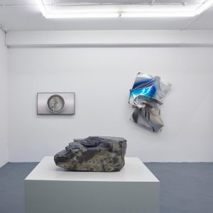 As a butterfly folded in a caterpillar that will soon unfold @Nicoletti Contemporary, London  - GalleriesNow.net