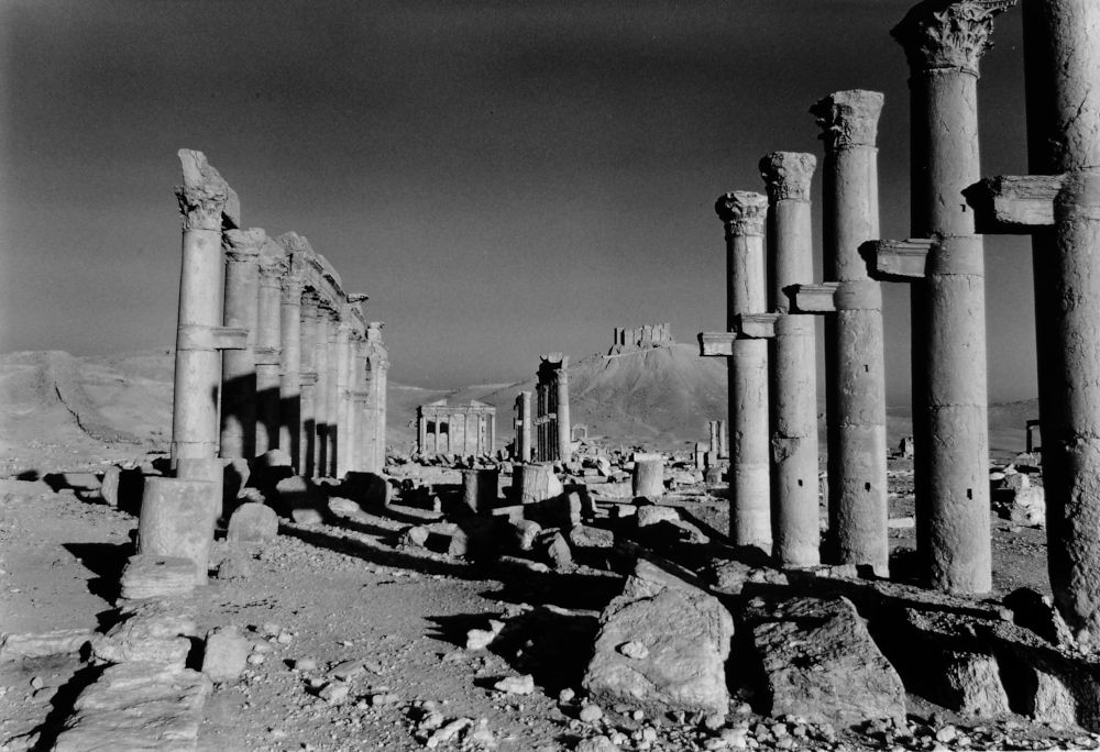 The Cardo Maximus of Apamea, Syria, 2006