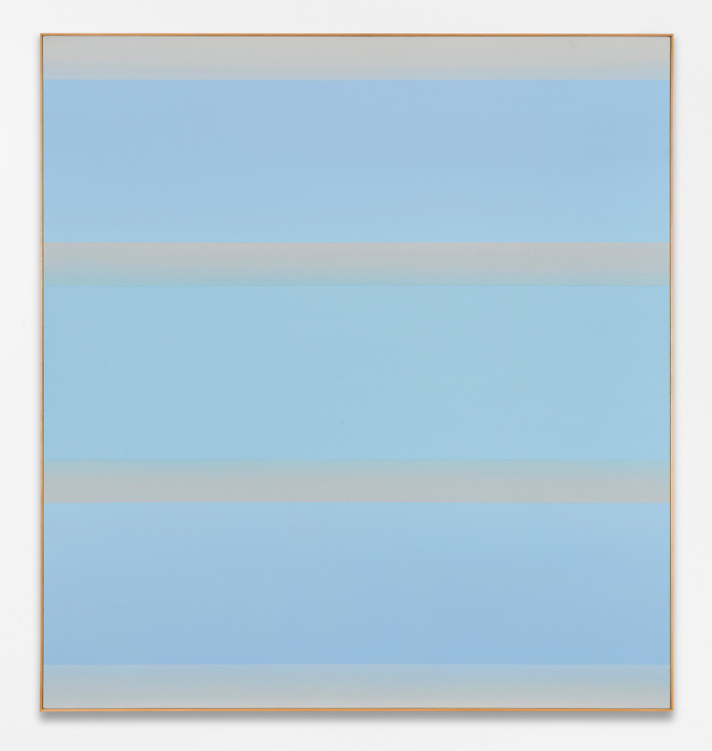 Ulrich Erben, Aura, 2012, acrylic paint on canvas, 150 x 140 cm, Courtesy Ulrich Erben and BASTIAN