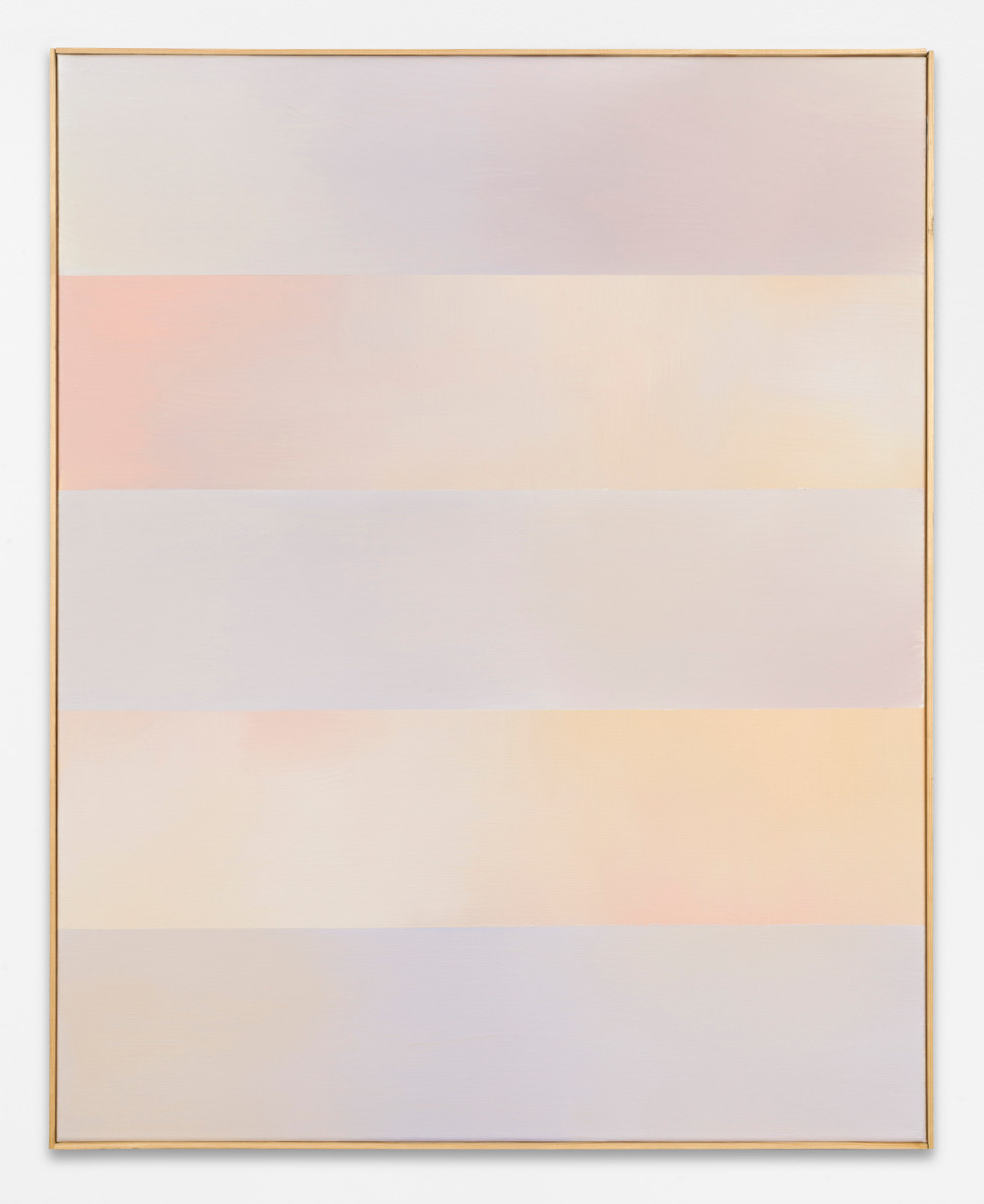 Ulrich Erben, Untitled, 2019, acrylic paint on canvas, 100 x 80 cm, Courtesy Ulrich Erben and BASTIAN