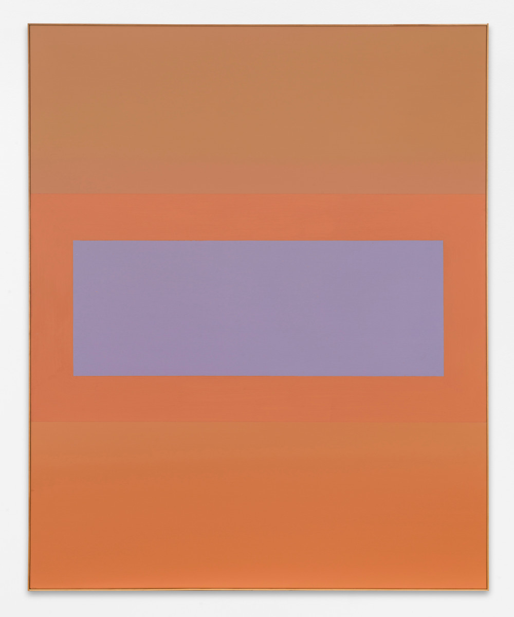 Ulrich Erben, Untitled (Lontananza), 2009, acrylic paint on canvas, 185 x 150 cm, Courtesy Ulrich Erben and BASTIAN
