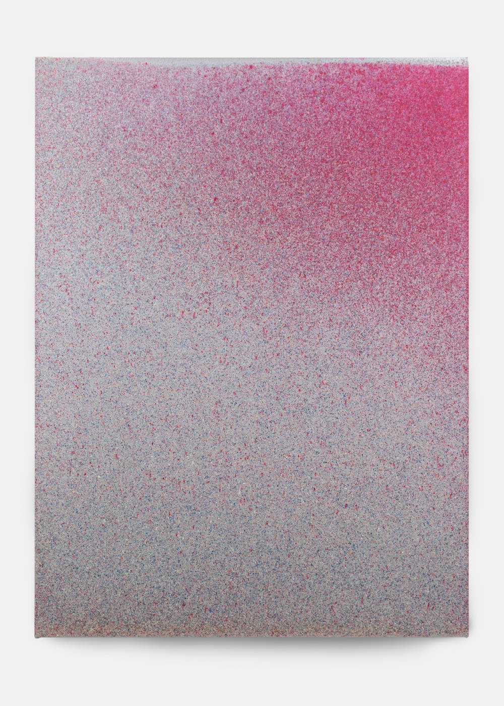 John Knuth (b. 1978), Soundrise, 2019. Acrylic/Flyspeck on canvas 48 x 36 inches